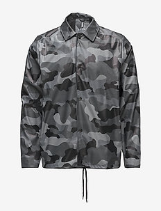 AOP Coach Jacket - rainwear - 82 night camo
