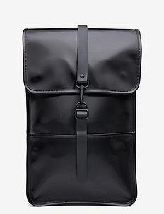 Backpack - rygsække - 76 shiny black