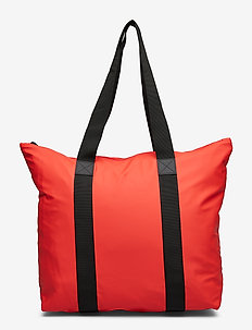 Tote Bag Rush - shoppers - red