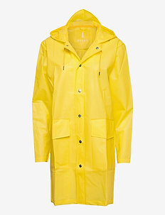Hooded Coat - regnkläder - foggy yellow