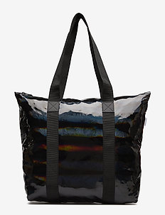 Holographic Tote Bag Rush - 25 HOLOGRAPHIC BLACK