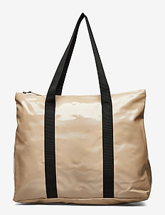 Holographic City Tote - HOLOGRAPHIC BEIGE