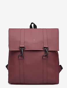 MSN Bag Mini - rucksäcke - 11 maroon