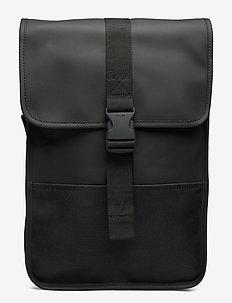 Buckle Backpack Mini - backpacks - 01 black