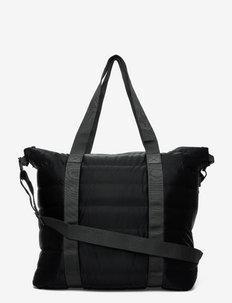 Tote Bag Quilted - viikonloppulaukut - 29 velvet black