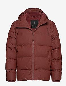 Puffer Jacket - padded jackets - 11 maroon