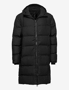 Long Puffer Jacket - forede jakker - 01 black