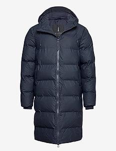 Long Puffer Jacket - vinterfrakker - 02 blue