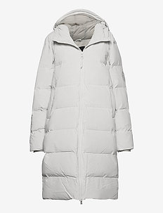 Long Puffer Jacket - padded jackets - 58 off white