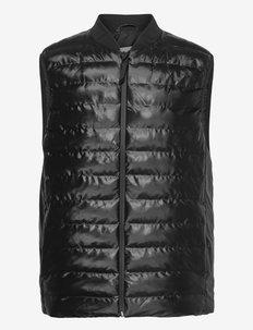 Trekker Vest - vestes rembourrées - 76 shiny black