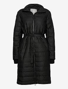 Trekker W Coat - dynefrakke - 01 black