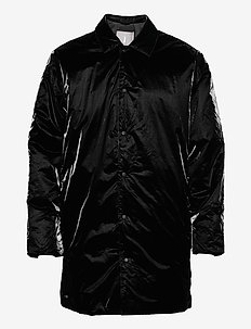 Drifter Mac Coat - padded jackets - 01 black