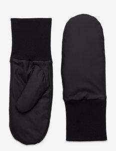 Mittens Padded - hanskat - black