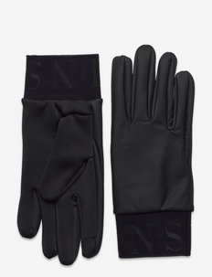 Gloves - hanskat - black