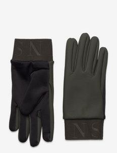 Gloves - rękawiczki - green
