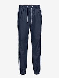 Color Block Pants - BLUE/ICE GREY