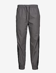 Color Block Pants - CHARCOAL/BLACK