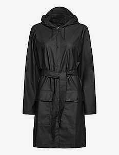 Belt Jacket - manteaux de pluie - 01 black