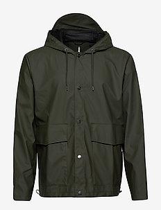 Short Hooded Coat - jassen & mantels - 03 green