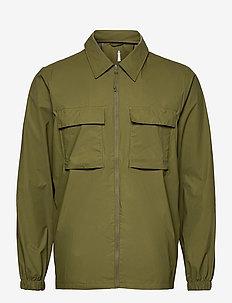 Ultralight Zip Shirt - overdele - 78 sage