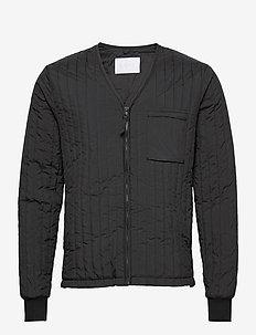 Liner Jacket - quiltede - 01 black