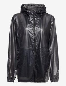 Ultralight Jacket - regnjakker - 24 shadow black
