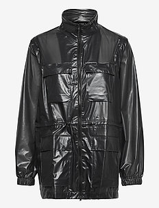 Ultralight Zip Off Parka - manteaux de pluie - 24 shadow black
