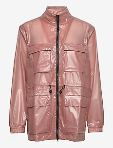 Ultralight Zip Off Parka - płaszcze przeciwdeszczowe - 32 shadow blush