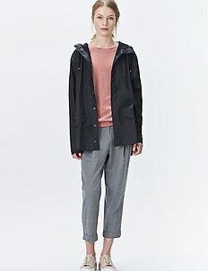 Jacket - płaszcze przeciwdeszczowe - 01 black