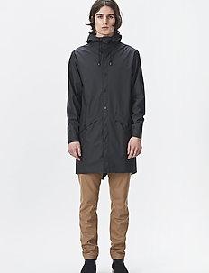 Long Jacket - płaszcze przeciwdeszczowe - 01 black