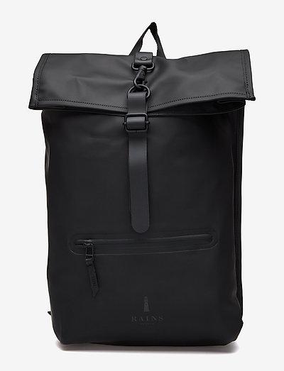 Rolltop Rucksack - sacs à dos - 01 black