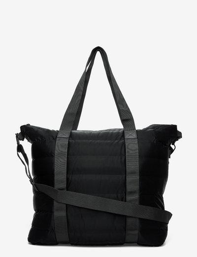 Tote Bag Quilted - sacs de voyage - 29 velvet black