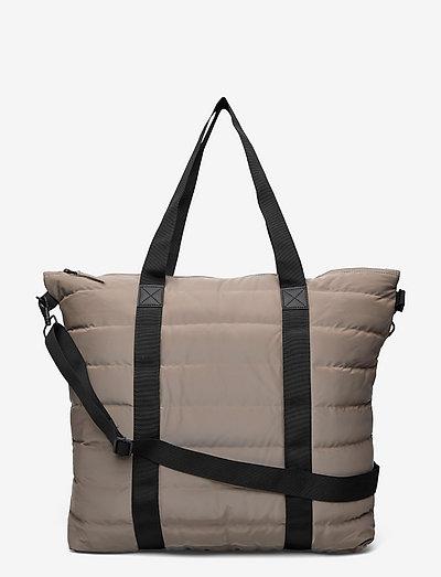 Tote Bag Quilted - sacs de voyage - 33 velvet taupe