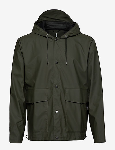 Short Hooded Coat - manteaux de pluie - 03 green