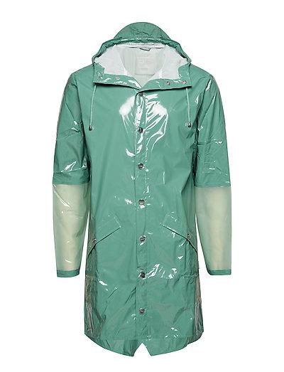 LTD Long Jacket - 73 GLOSSY FADED GREEN
