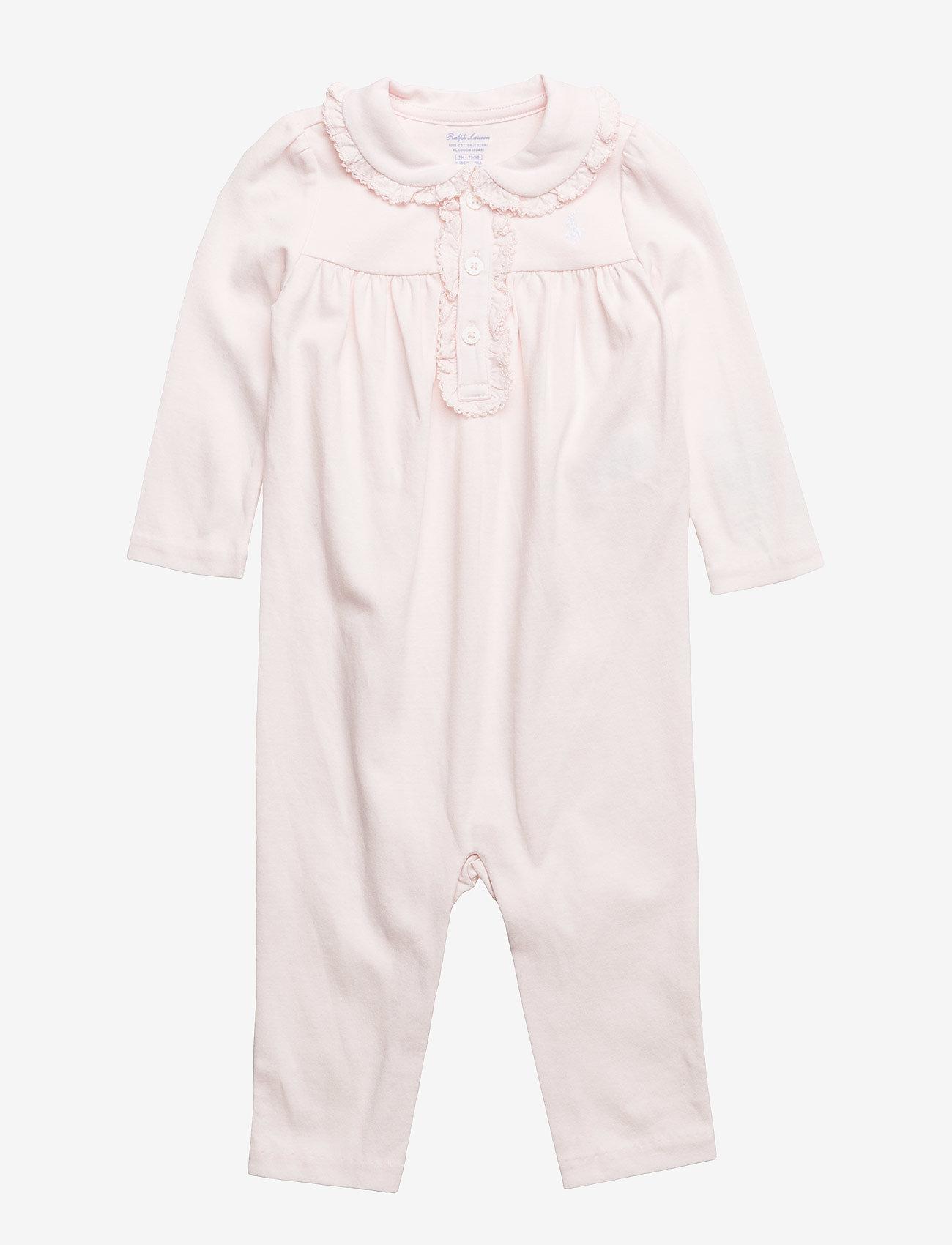 Ralph Lauren Baby - PIMA INTERLOCK-POLO-OP-CVA - langärmelig - delicate pink - 0