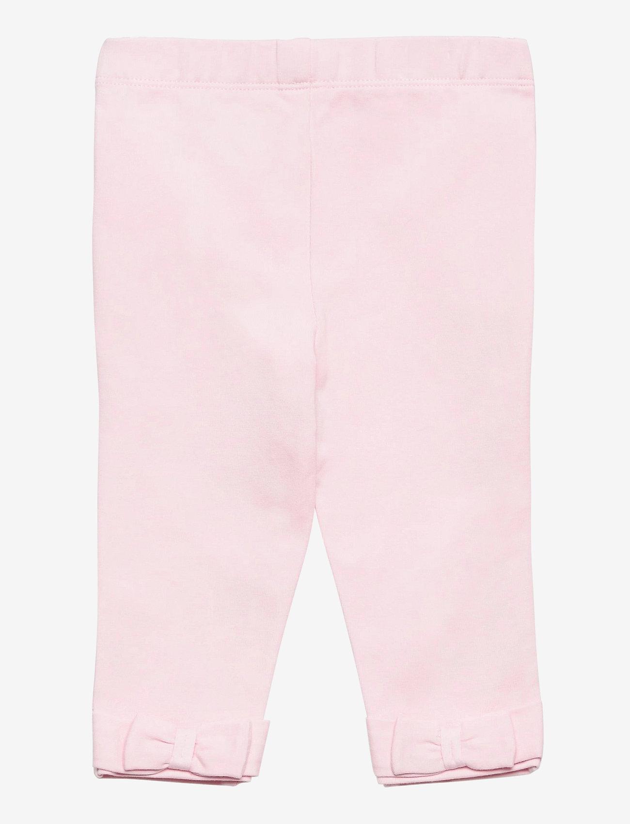 Ralph Lauren Baby - JERSEY-BOW BACK-BT-LGG - leggings - hint of pink - 1