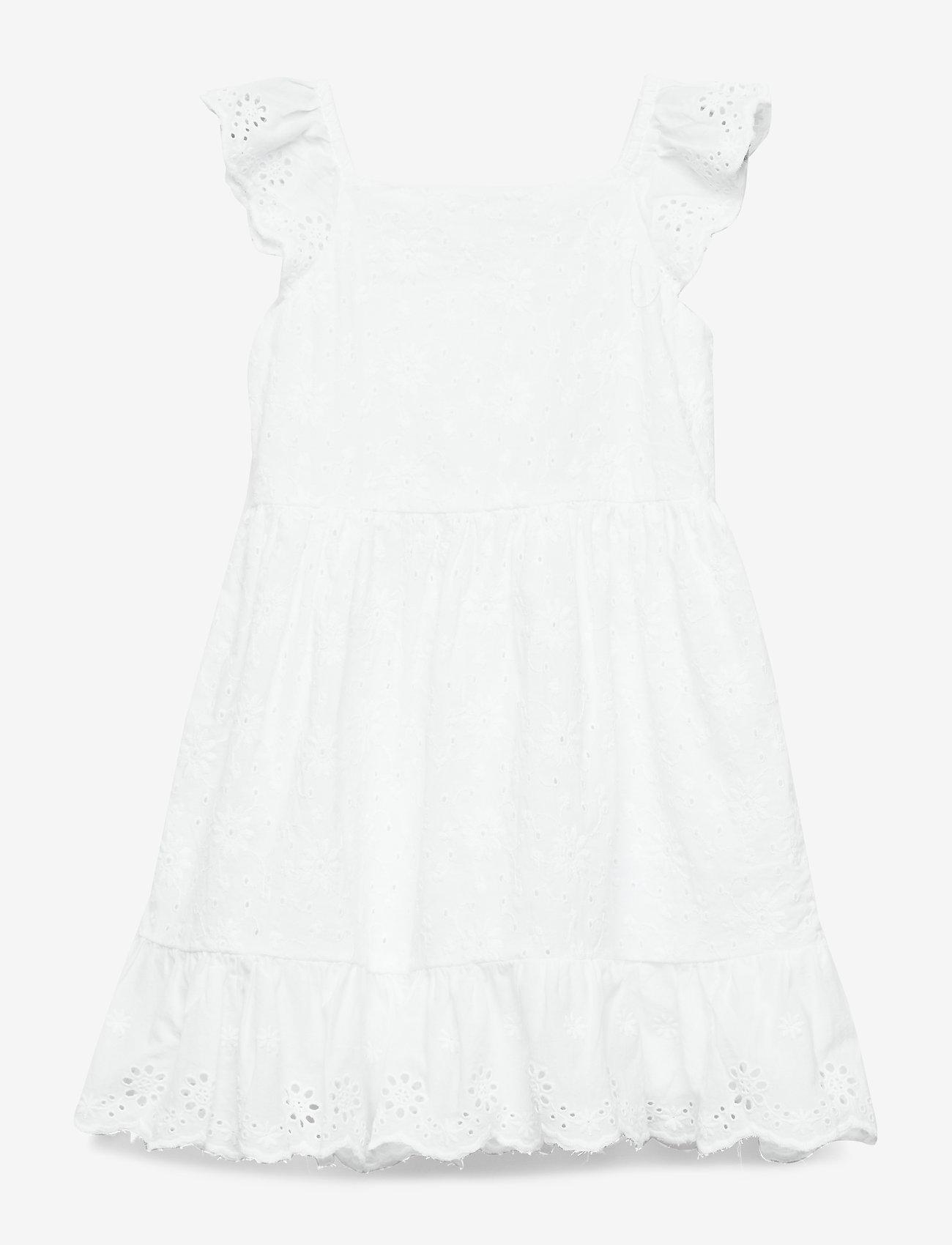 Ralph Lauren Baby - Eyelet-Trim Dress & Bloomer - dresses - white - 0