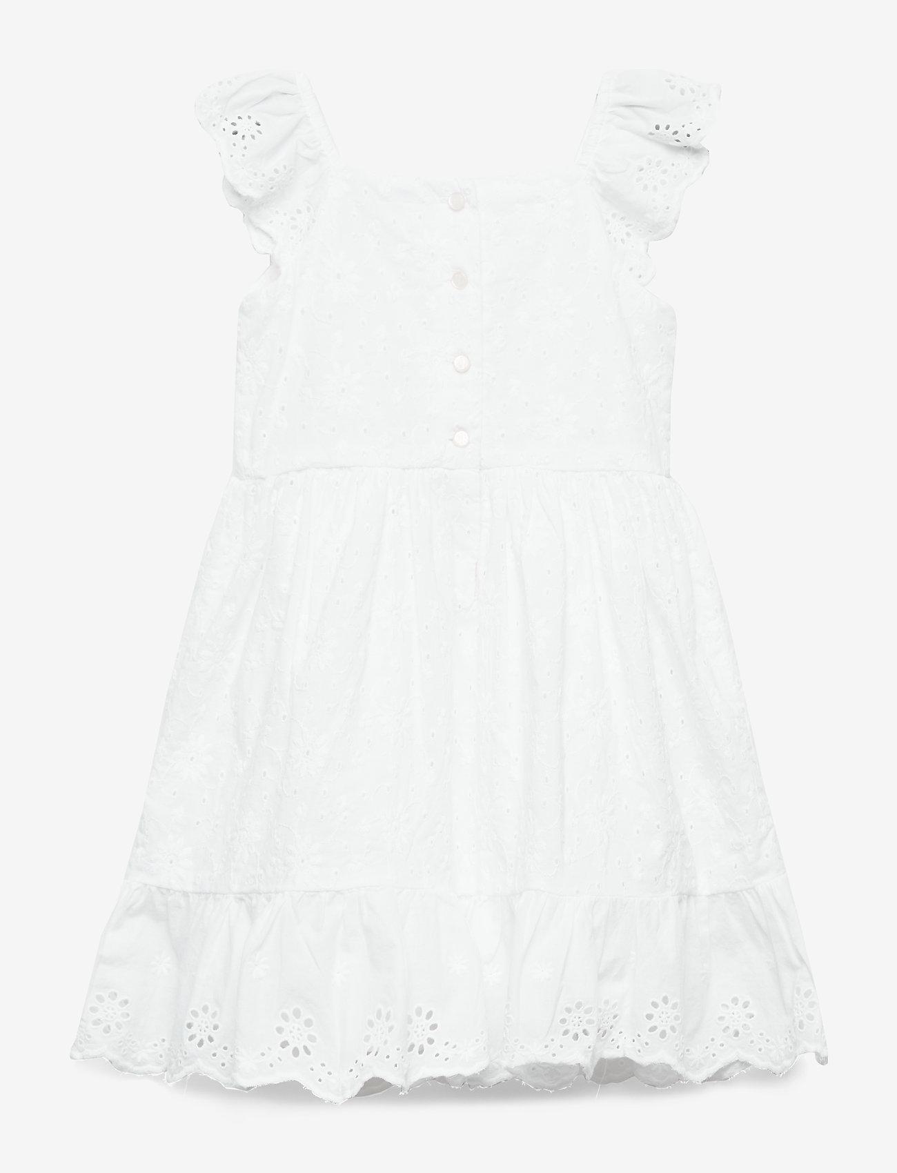 Ralph Lauren Baby - Eyelet-Trim Dress & Bloomer - dresses - white - 1