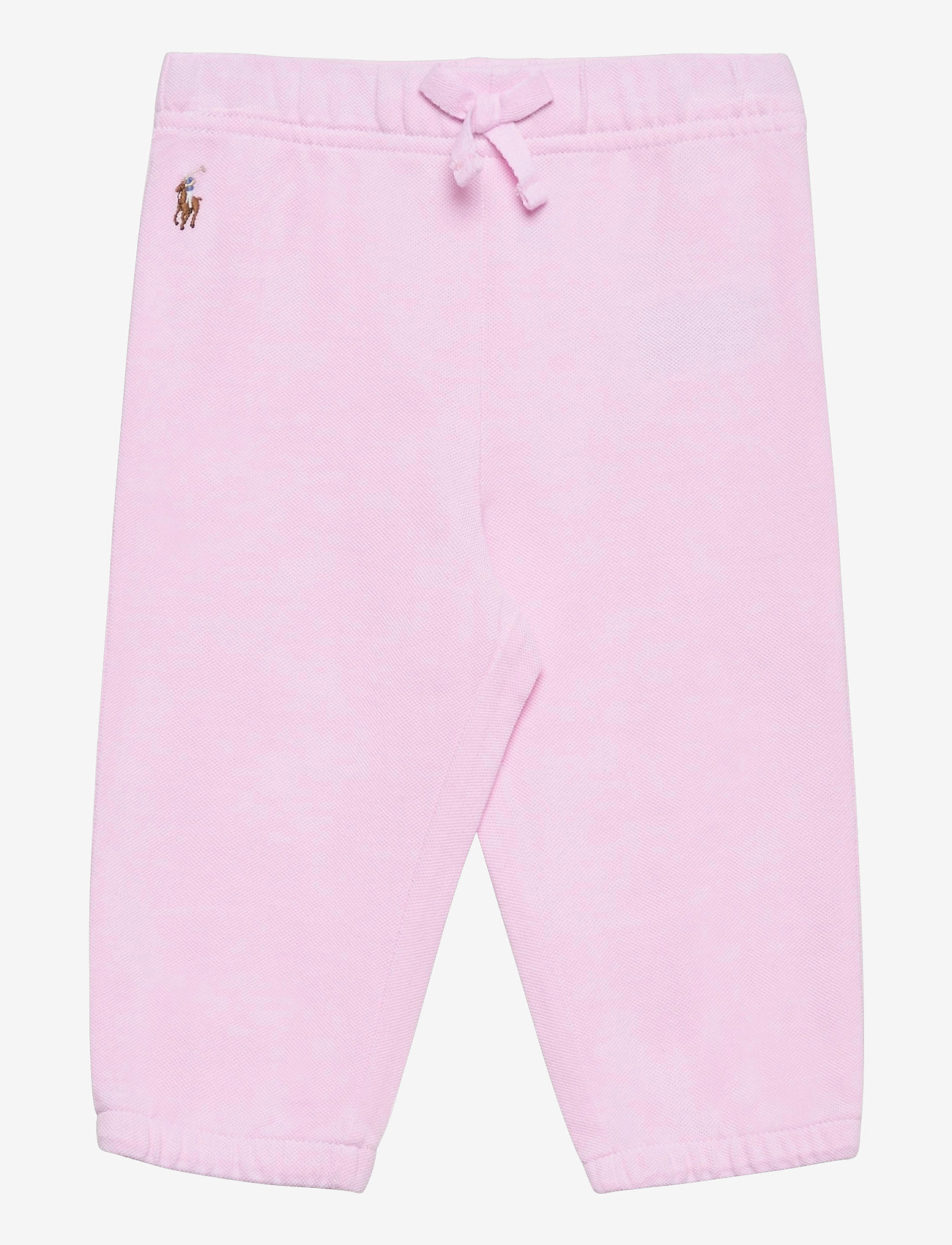 Ralph Lauren Baby - Oxford Mesh Pull-On Pant - trousers - carmel pink/white - 0