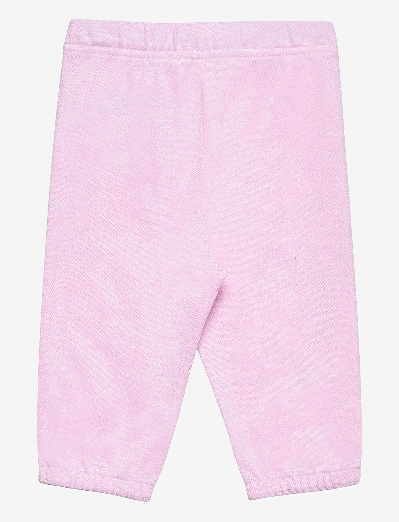 Ralph Lauren Baby - Oxford Mesh Pull-On Pant - bukser - carmel pink/white - 1