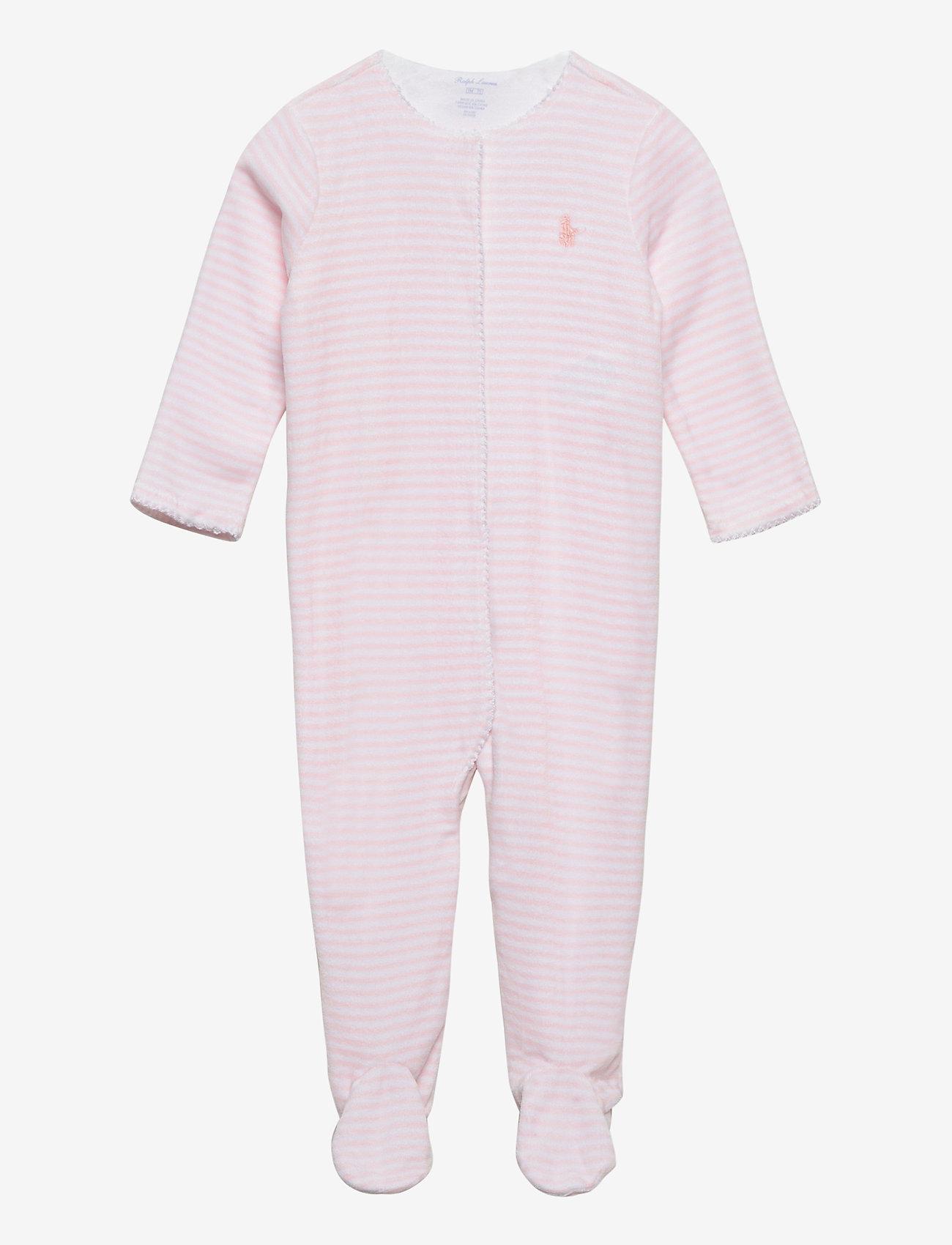 Ralph Lauren Baby - YD VELOUR-VELOUR CVRLL-AC-GBX - gift sets - hint of pink/whit - 0