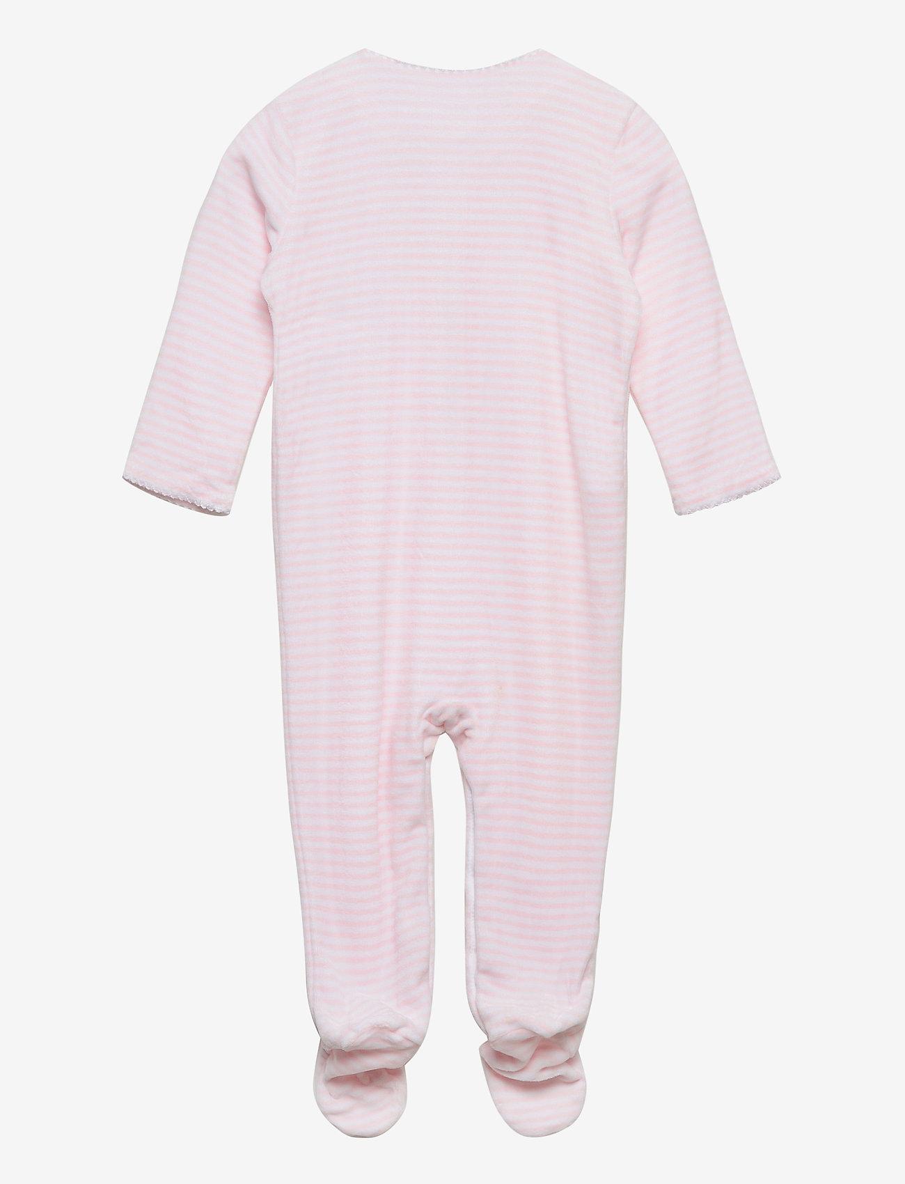 Ralph Lauren Baby - YD VELOUR-VELOUR CVRLL-AC-GBX - gift sets - hint of pink/whit - 1