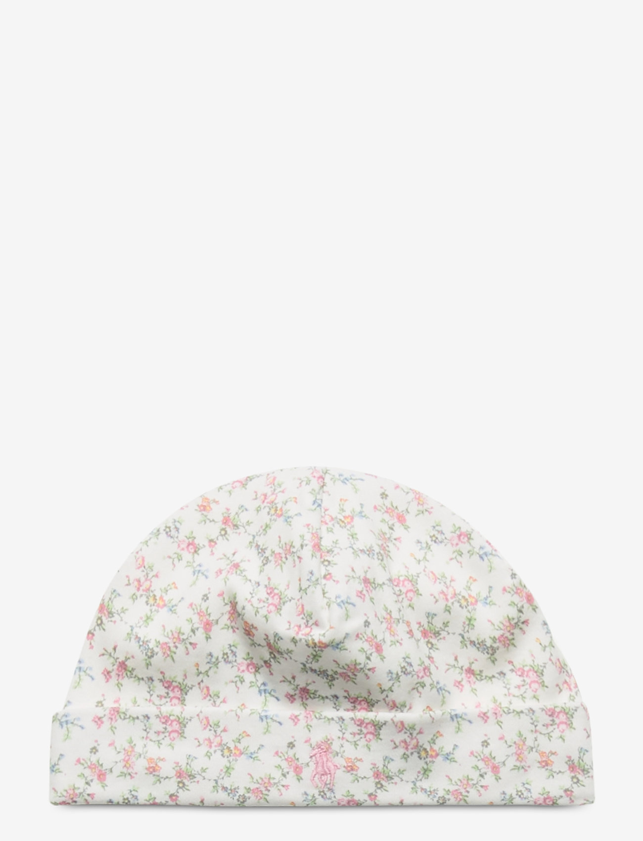 Ralph Lauren Baby - Floral Cotton Hat - hats - multi floral - 0