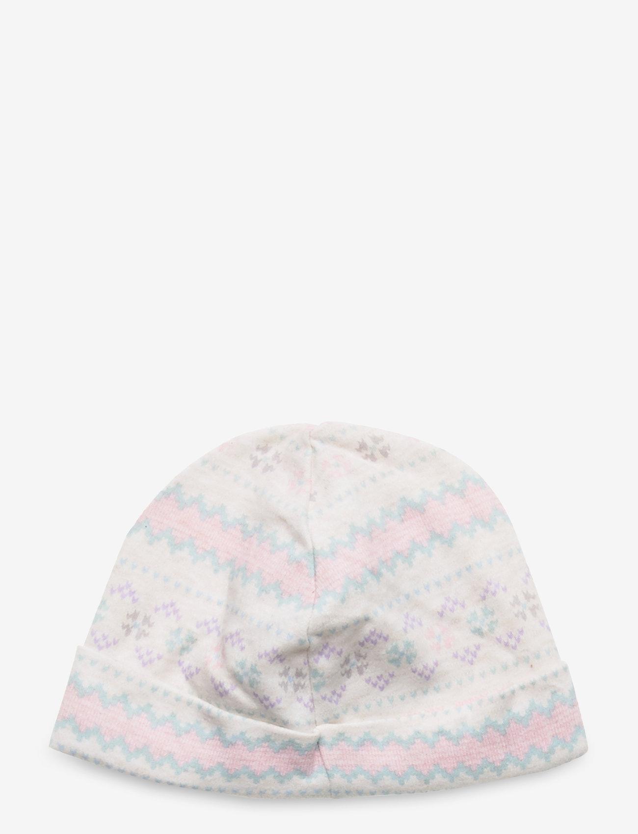 Ralph Lauren Baby - Fair Isle Print Cotton Hat - huer - cream multi - 1