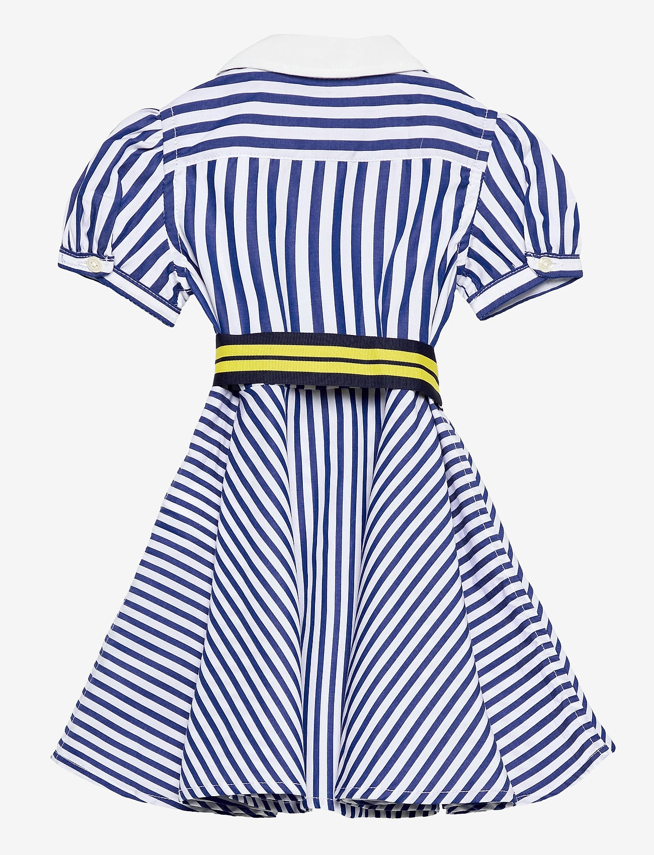 Ralph Lauren Baby - Shirtdress, Belt, & Bloomer - dresses - blue/white - 1
