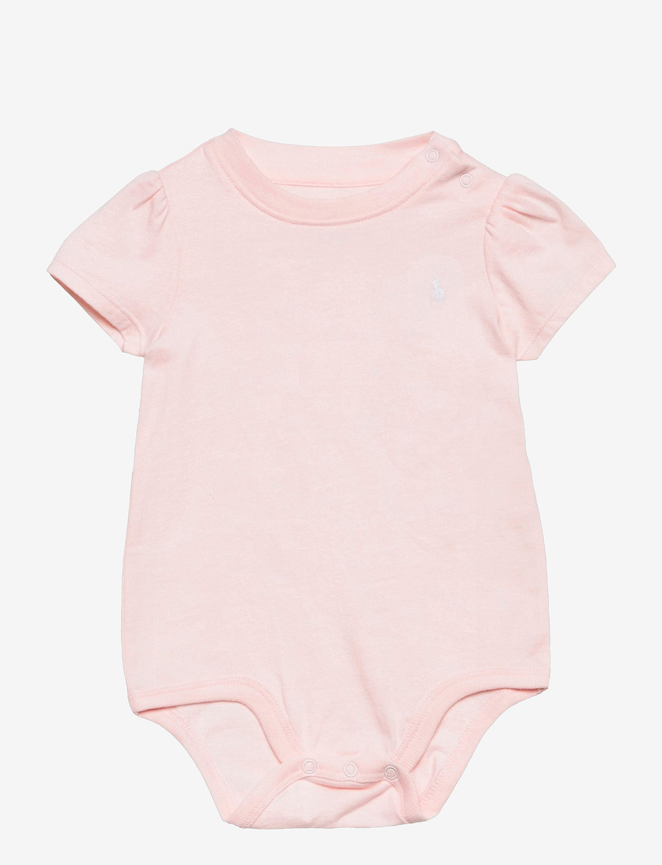 Ralph Lauren Baby - Jersey Tee Bodysuit - kurzärmelige - delicate pink - 0