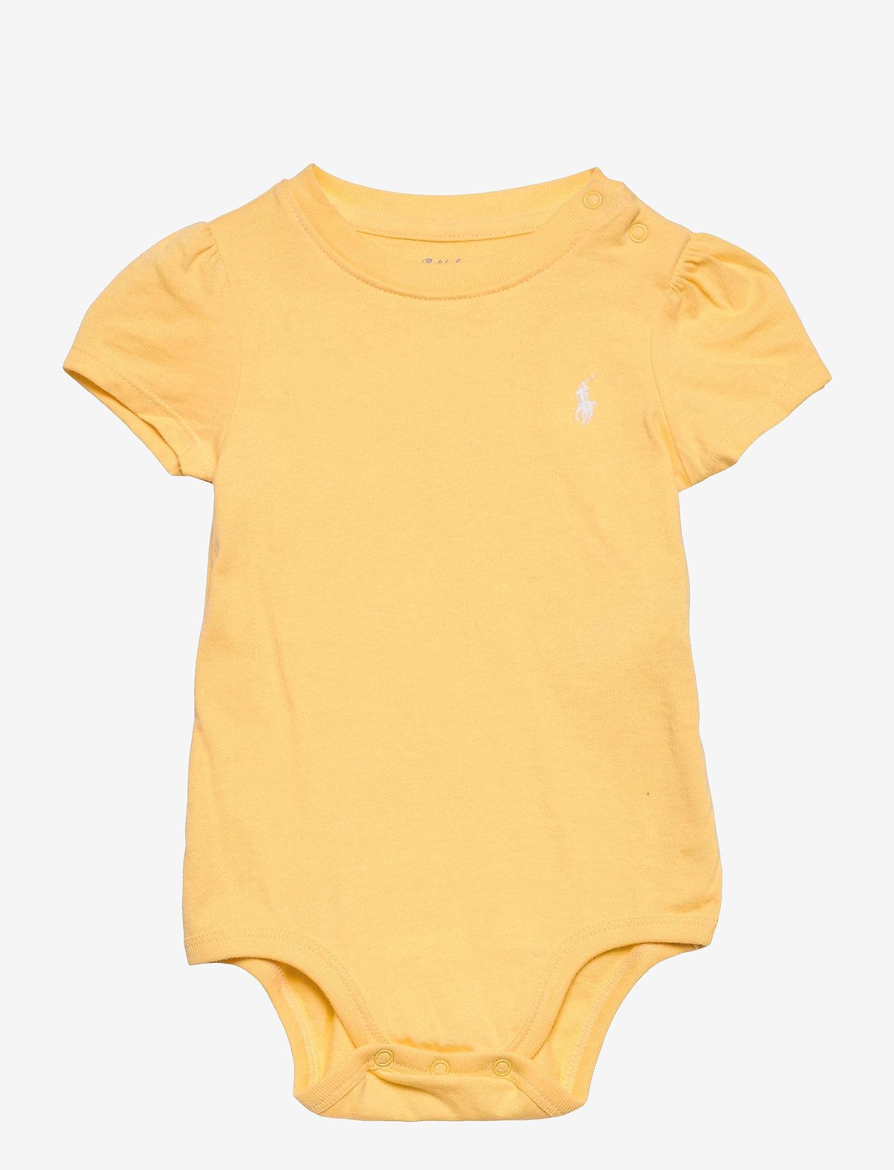 Ralph Lauren Baby - Jersey Tee Bodysuit - kurzärmelige - empire yellow - 0