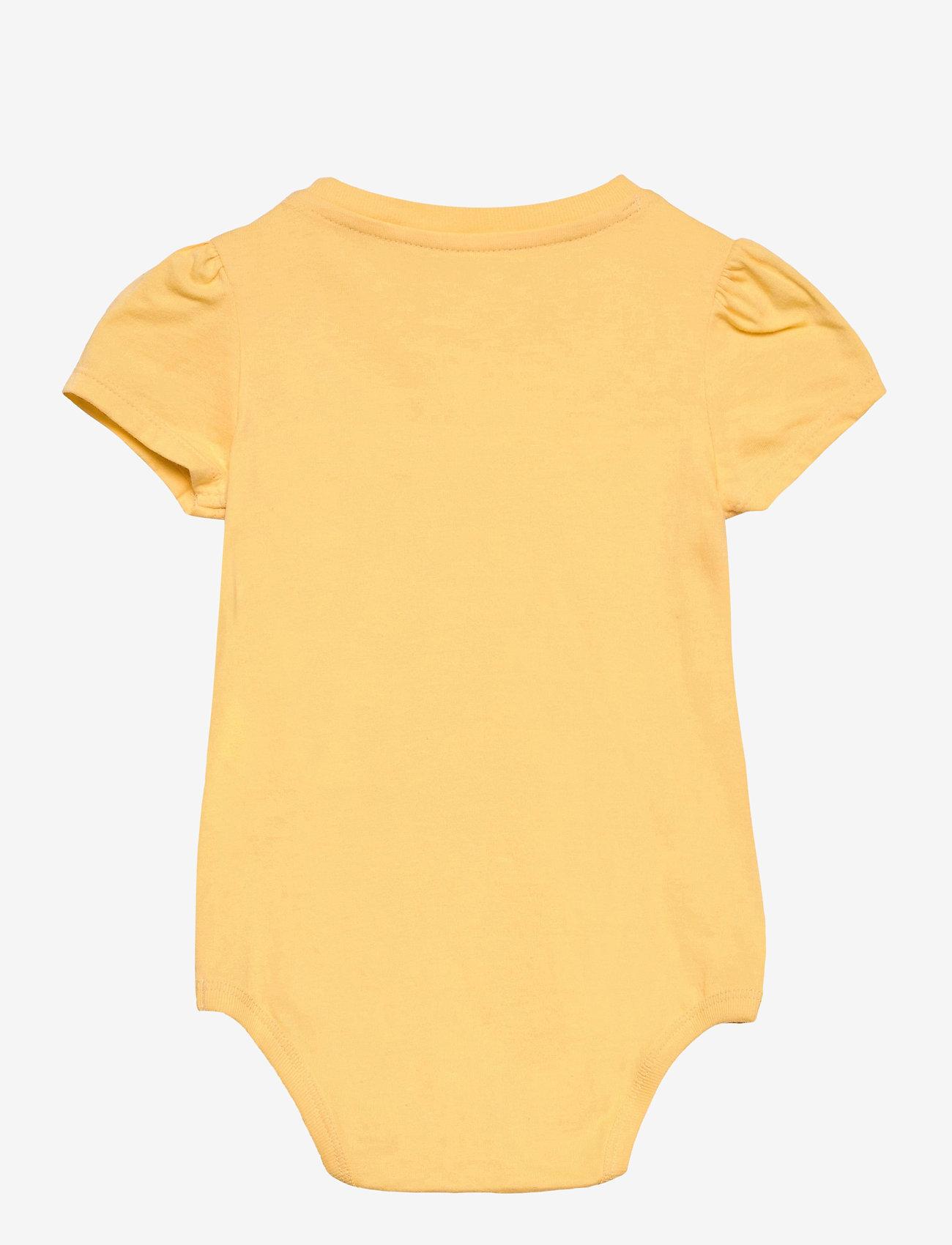 Ralph Lauren Baby - Jersey Tee Bodysuit - kurzärmelige - empire yellow - 1