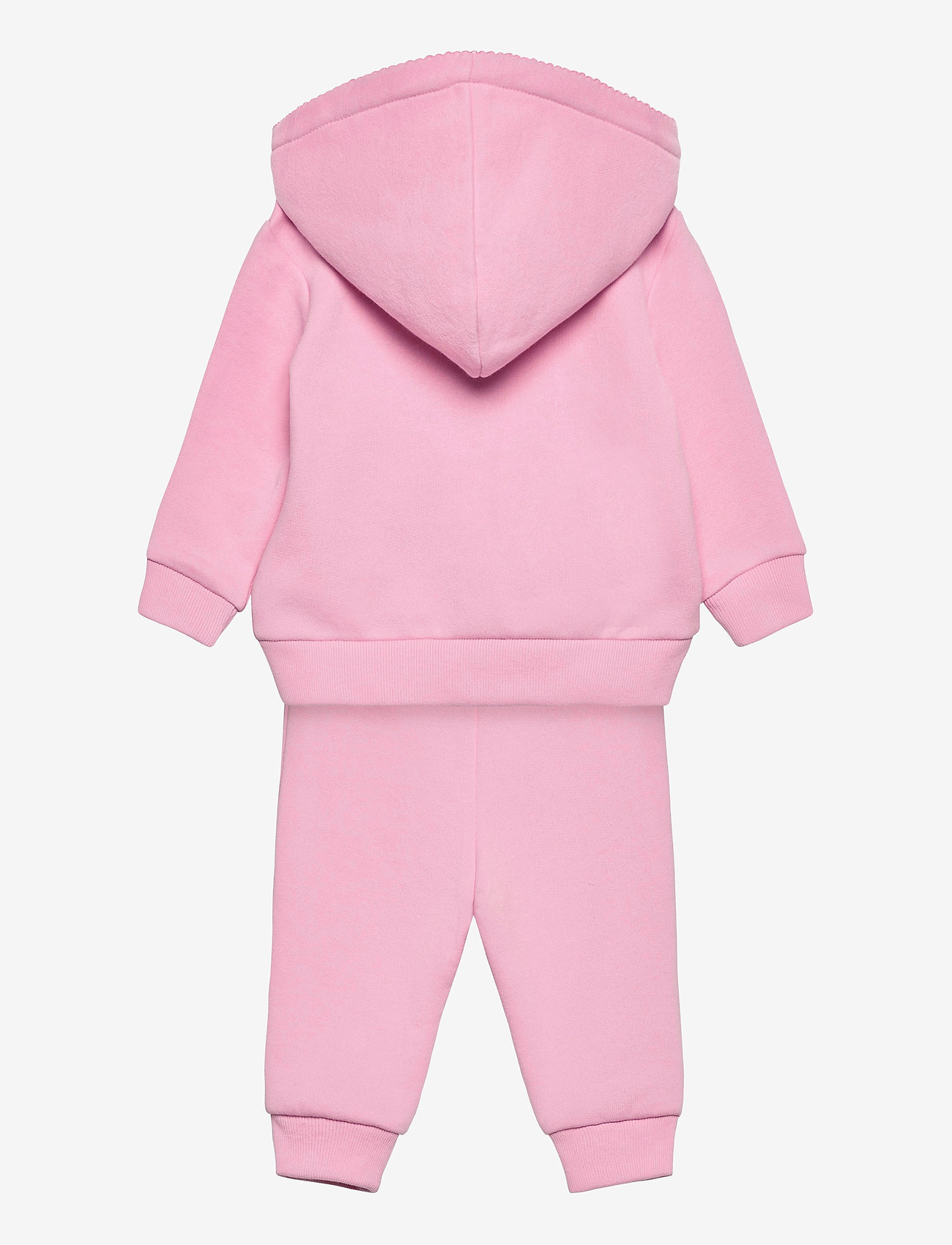 Ralph Lauren Baby - Fleece Hoodie & Pant Set - tracksuits - carmel pink - 1